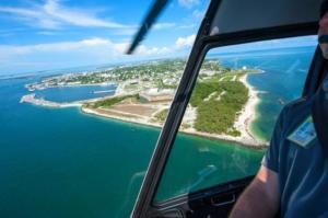 o que fazer em key west passeio de helicoptero em key west