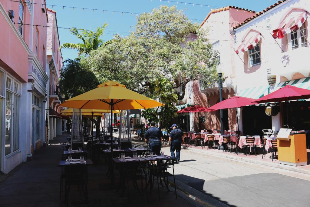 Espanola Way Miami Beach Italian Restaurant