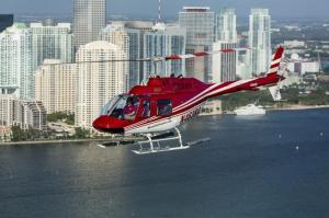 passeio de helicoptero miami